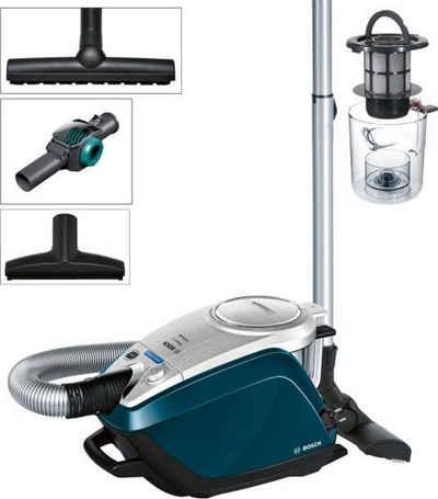 BOSCH Bodenstaubsauger BGS5FMLY2, 700 Watt, beutellos, mit Spielzeugfalle, HEPA Hygienefilter ideal für Allergiker