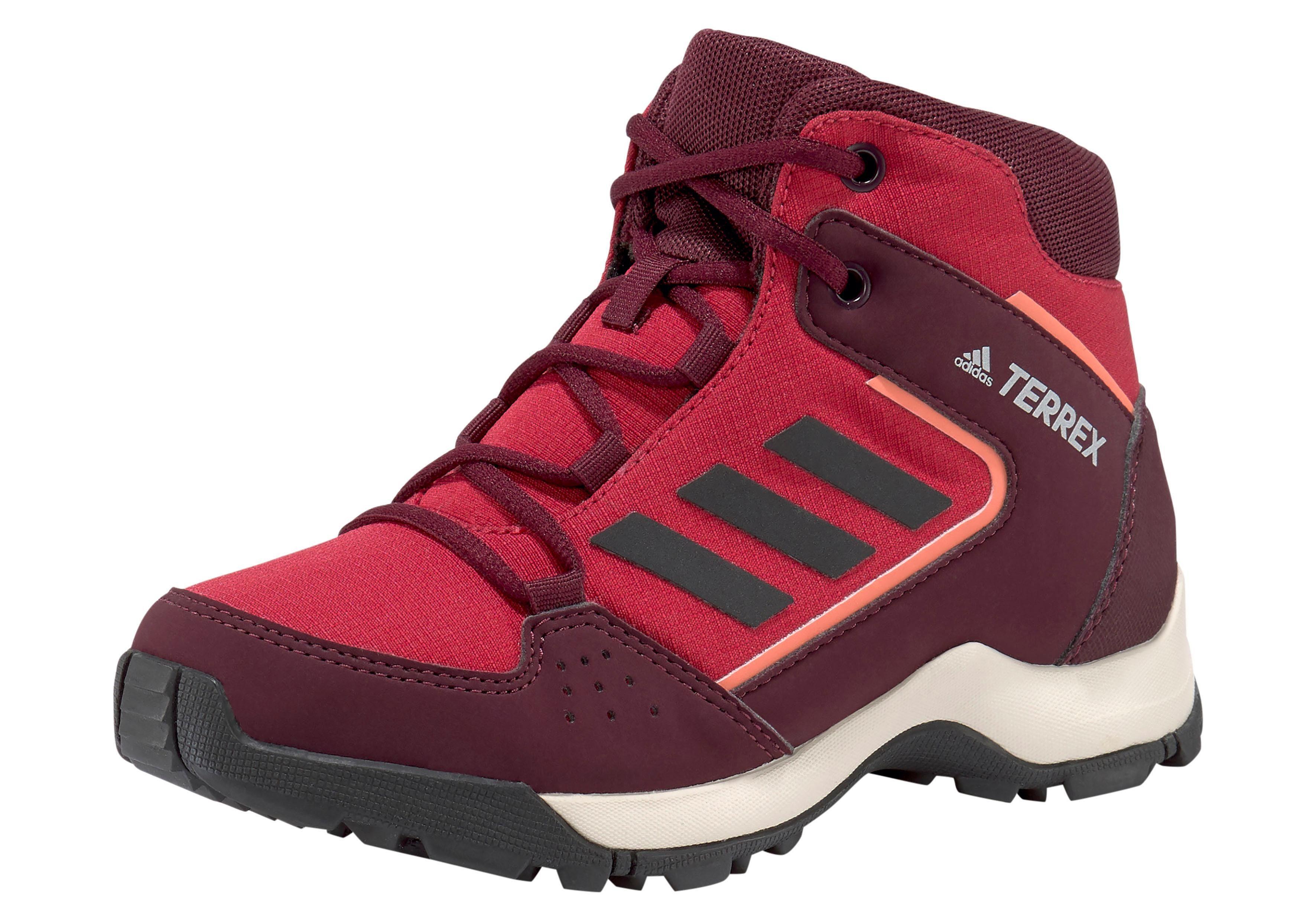 oben Trekking Boots Hyperhiker K von adidas in bordeaux