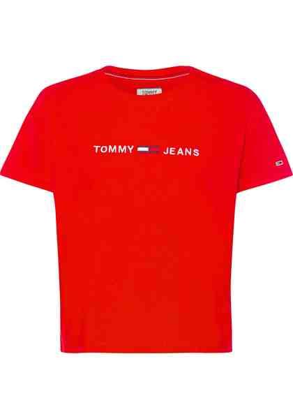 TOMMY JEANS T-Shirt in leicht verkürzter Form