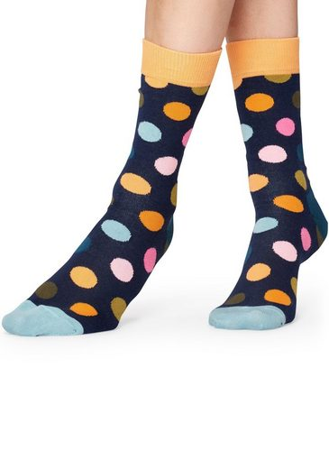 Happy Socks Socken »Big Dots« mit pastelligem Punktemuster