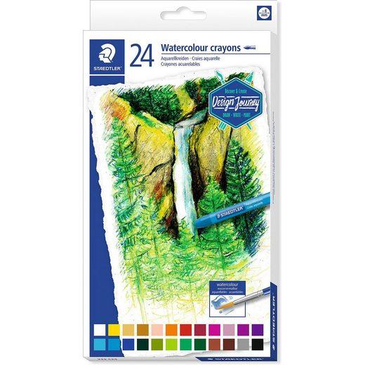 STAEDTLER Aquarellkreide, 24 Farben