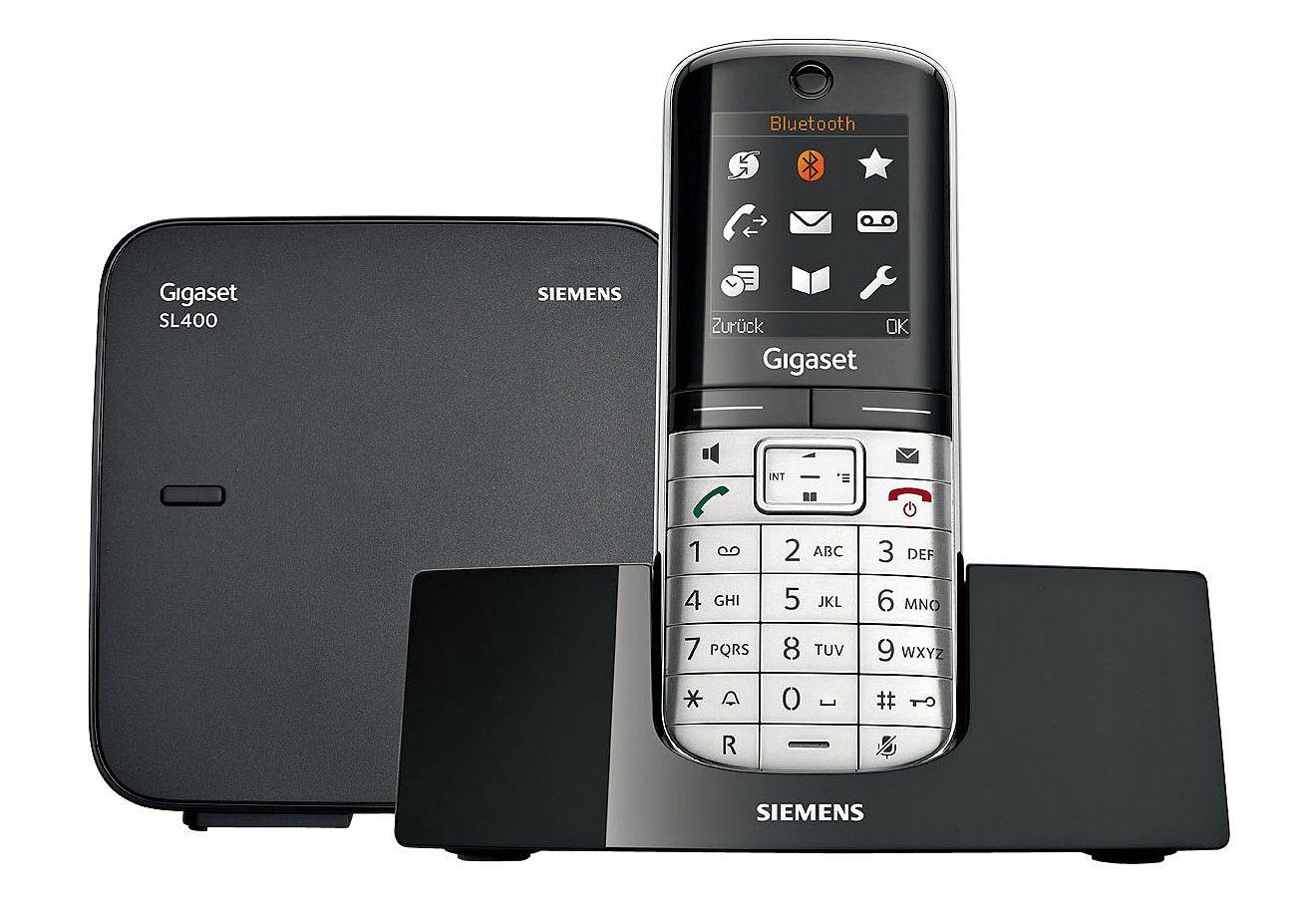Gigaset SL400 Schnurloses DECT Telefon