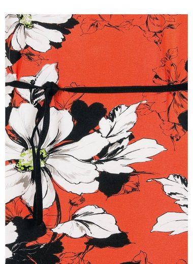Trigema Kleid mit Blumenmuster