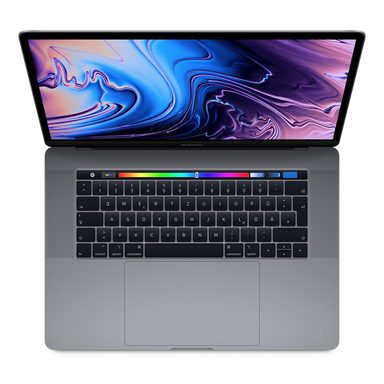 "APPLE MacBook Pro CTO TouchBar »6-Core i7, 39,1 cm (15,4""), 256 GB, 32 GB«"
