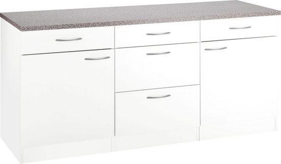 wiho Küchen Unterschrank »Kiel« 180 cm breit