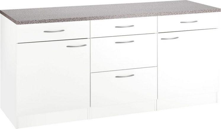 Wiho Küchen Unterschrank »Kiel«, 180/60/85 cm