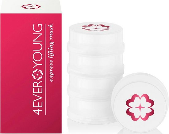4EVER YOUNG Gesichtsmaske »Express Lifting Mask« Packung, 5 x 7,5 ml