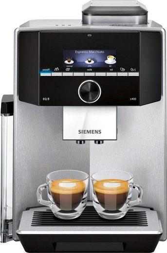 SIEMENS Kaffeevollautomat EQ.9 s400 TI924501DE