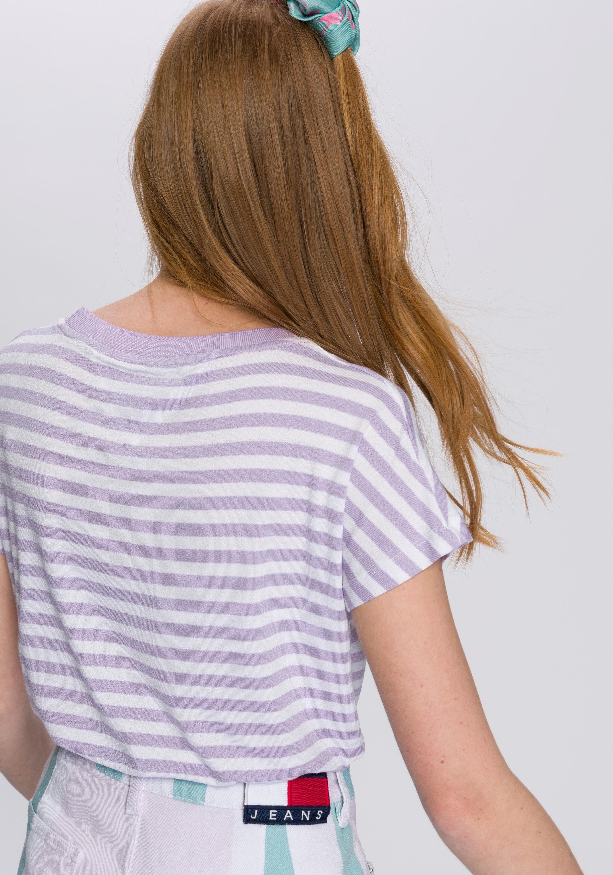 Fließendem Jerseymaterial T shirt Tommy Aus Jeans Schwer wnPgX0xRq