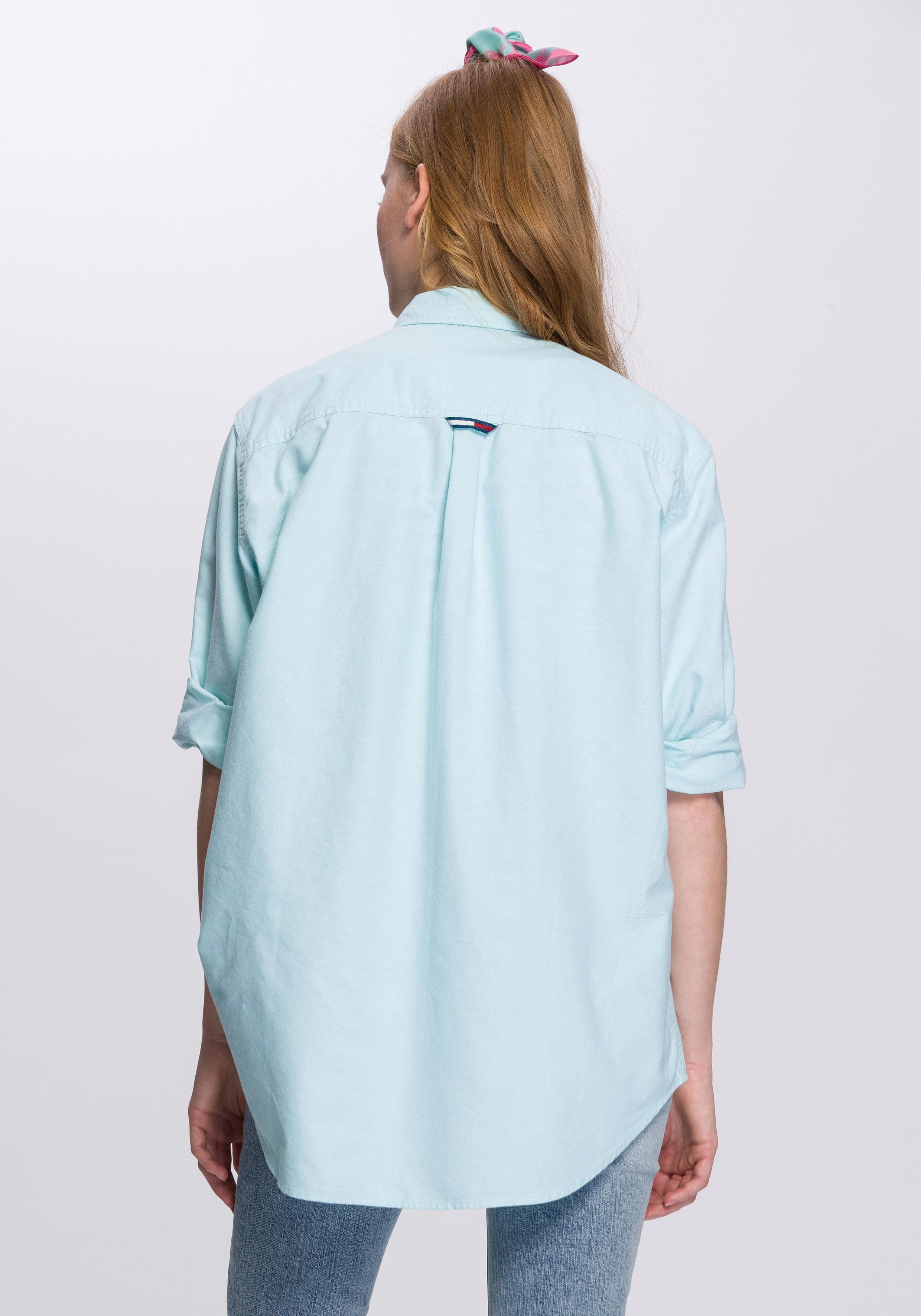 Jeans kragen Online Tommy Modischem Hemdbluse down Mit Button Kaufen v8mNwn0O
