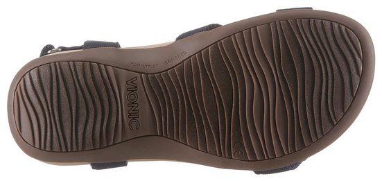 Mit Sandale Klettverschlüssen Vionic Praktischen Sandale Vionic x70nP8