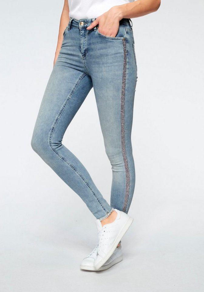 am besten bewerteten neuesten erstklassige Qualität heißer verkauf authentisch Only Ankle-Jeans »BLUSH« mit seitlichem Glitzerstreifen online kaufen | OTTO