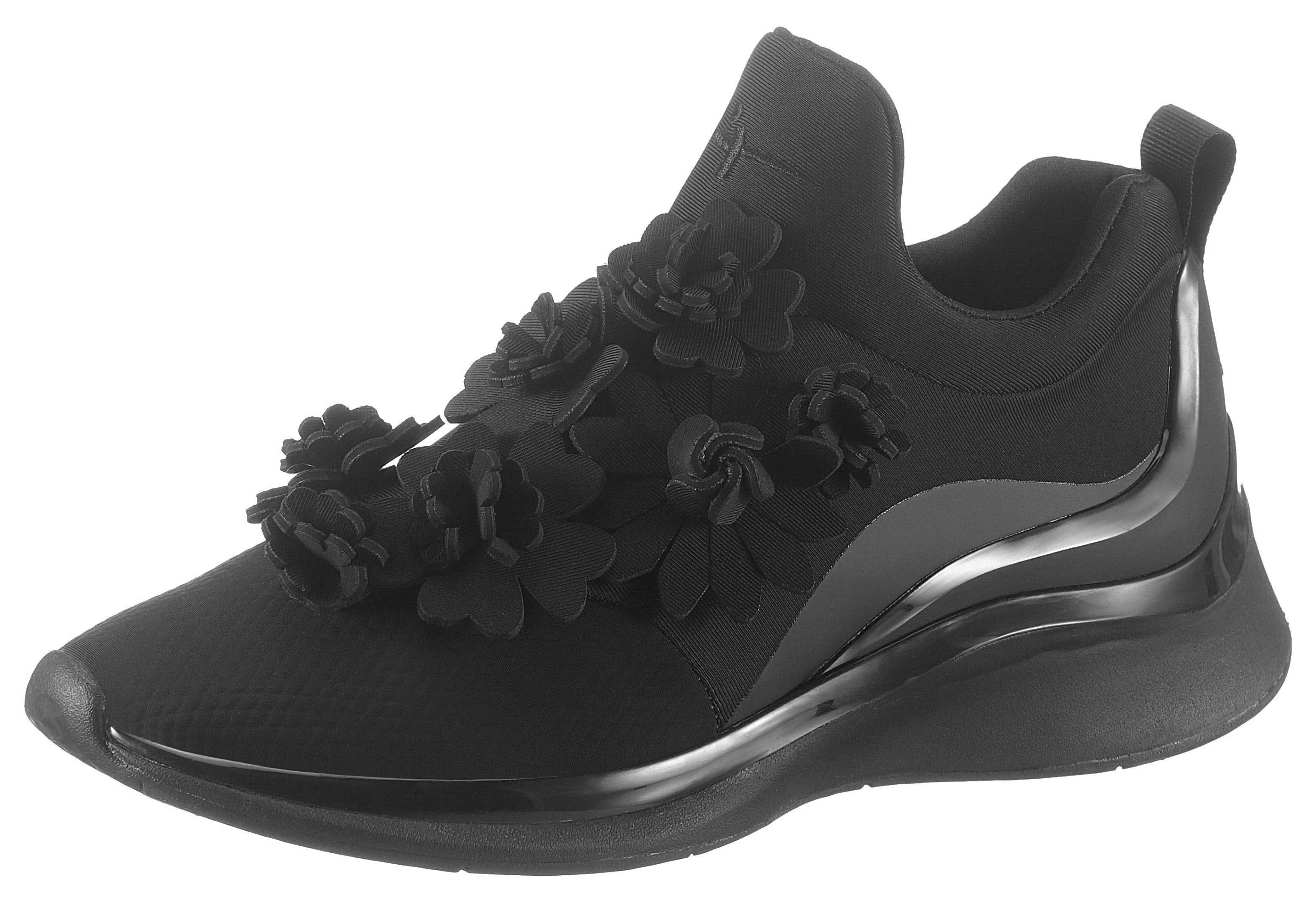 Tamaris »Fashletics« Slip On Sneaker mit schöner Blütendeko online kaufen   OTTO