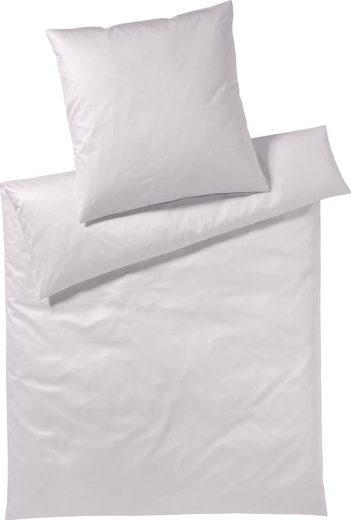 Bettwäsche »Pure & Simple Uni«, Yes for Bed, aus hochwertigem Mako-Satin