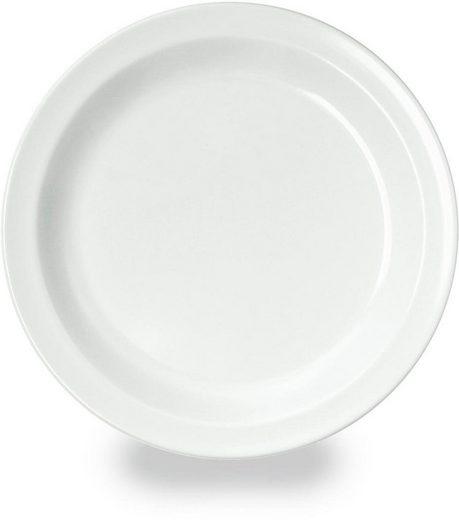 WACA Dessertteller, (4 Stück), Melamin, 19,5 cm