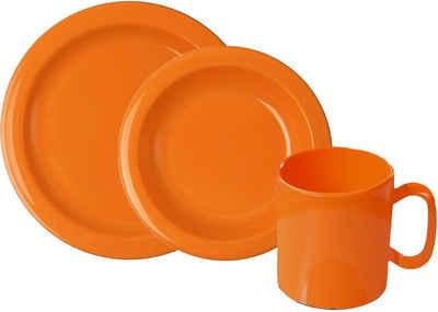 WACA Frühstücks-Geschirrset (6-tlg), Kunststoff