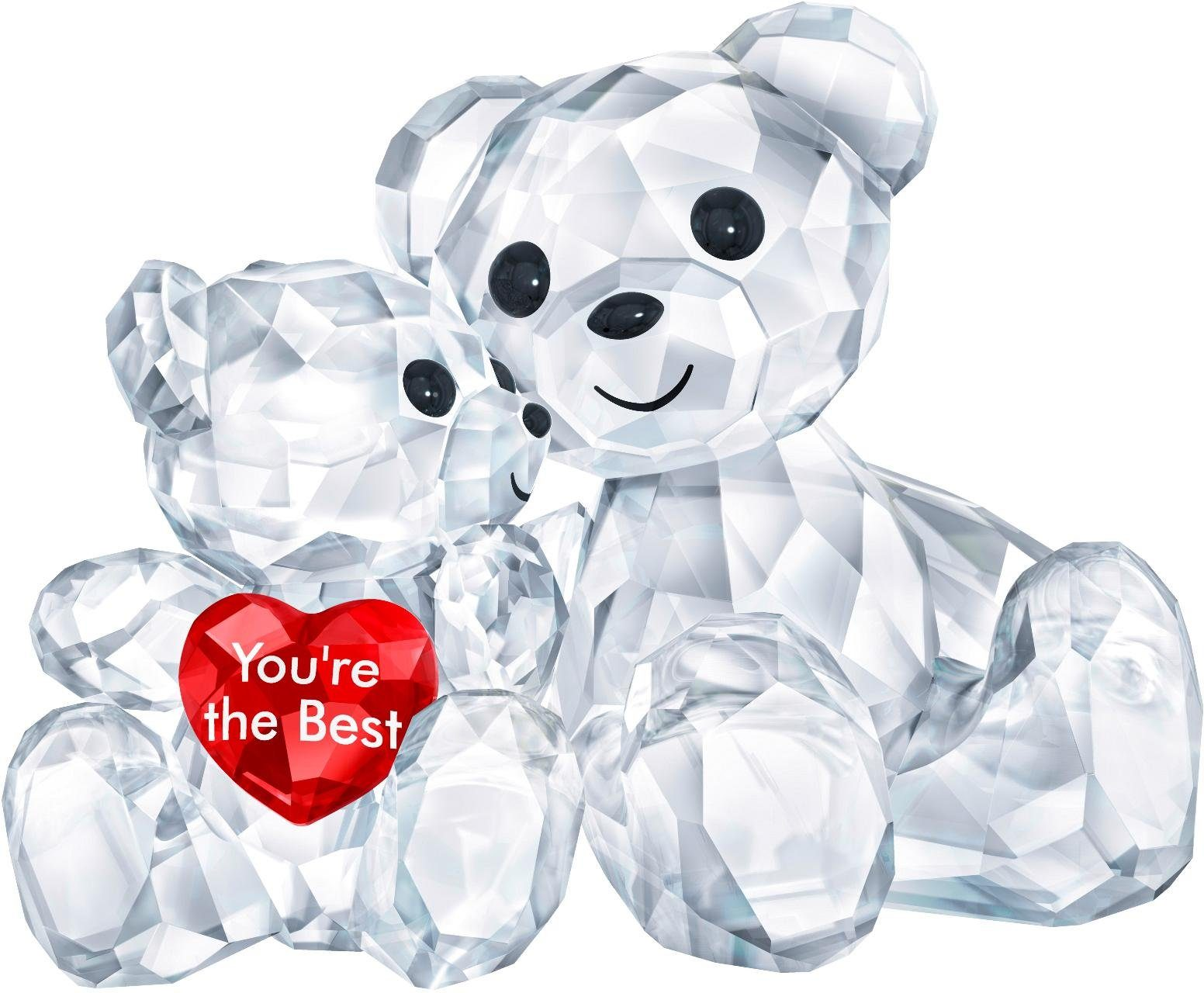 Swarovski Dekofigur »Kris Bär – You are the Best, 5427994« (1 Stück), Swarovski® Kristall