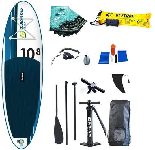 D7 Inflatable SUP-Board »Gladiator LT 10.8 SP«, (Set)