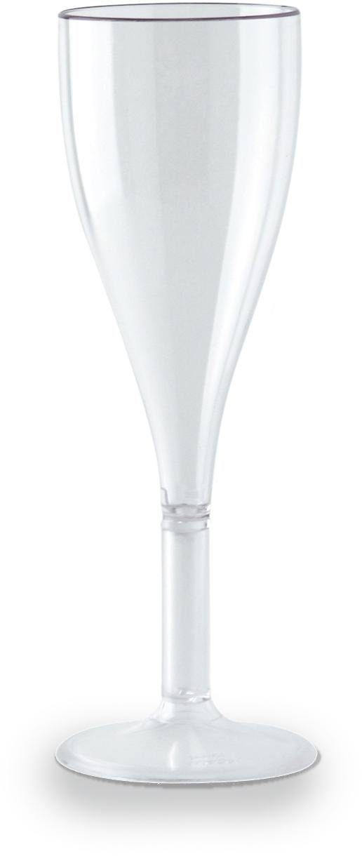 WACA Sektglas (4-tlg), Kunststoff, 100 ml