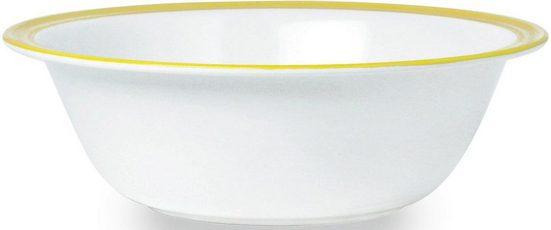WACA Schüssel »Bistro«, Melamin, (2-tlg), 2-teilig, Ø 23,5 cm, 1600 ml