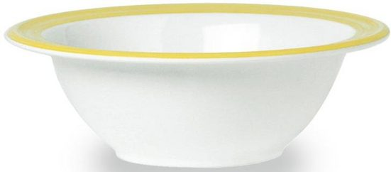 WACA Müslischale »Bistro«, Melamin, (4-tlg), (4 Stück), 16,5 cm