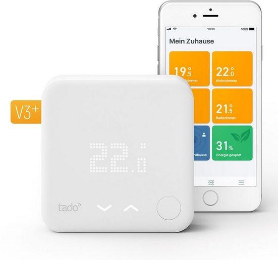 Tado Smart Home Zubehör »Smart Thermostat - Starter Kit V3+ inkl. 1 Bridge«