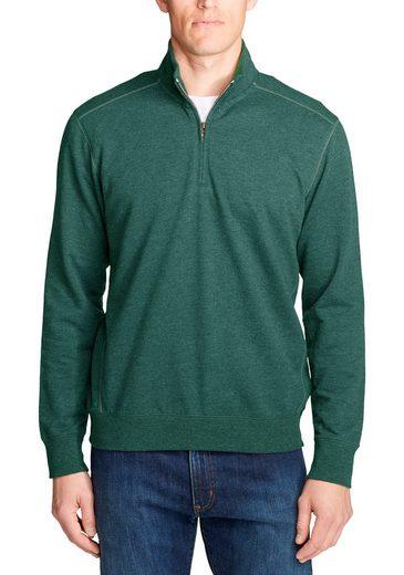 Eddie Bauer Sweatshirt Camp Fleece Sweatshirt mit 1/4-Reißverschluss