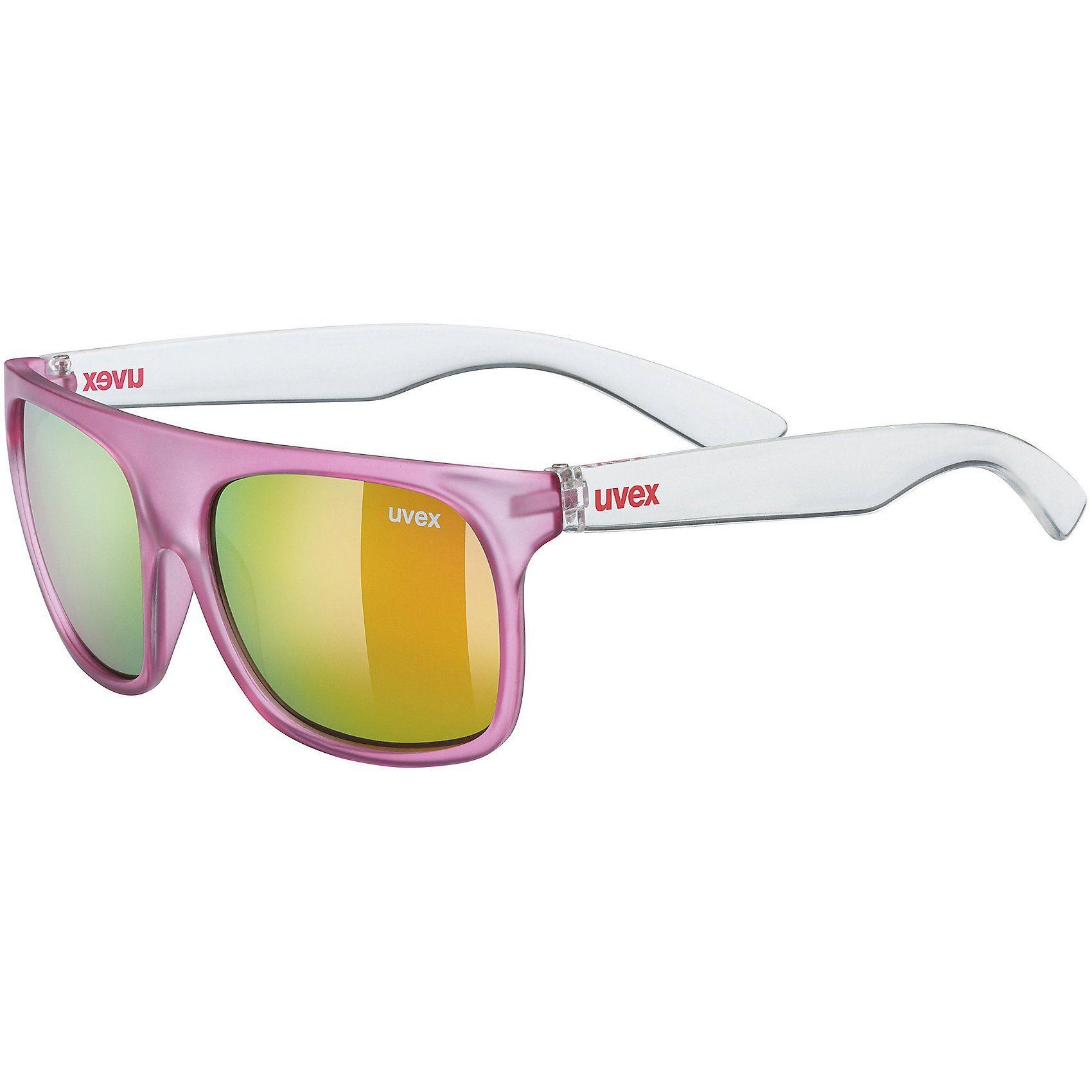 Uvex Sonnenbrille sportstyle 511 pink clear/mir.pink