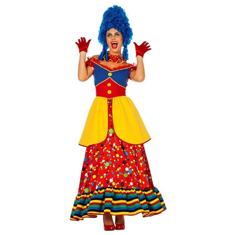 Happy Maggie Zirkus Clown Damenkostüm