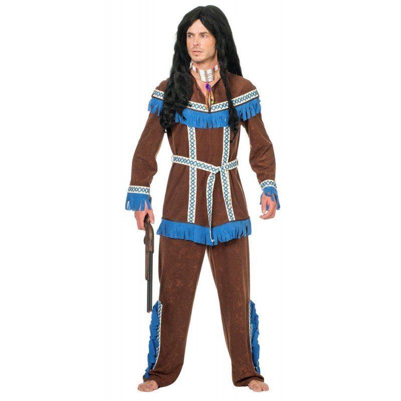 Indianer Elsu Herrenkostüm