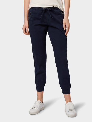 TOM TAILOR 5-Pocket-Hose »Hose im Loose Fit in Ankle-Länge«