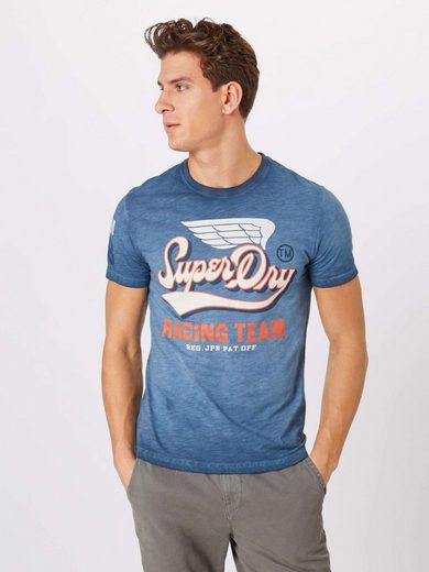 Slub »high Flyers Weiß Print Tee« Superdry shirt vmN80wOn