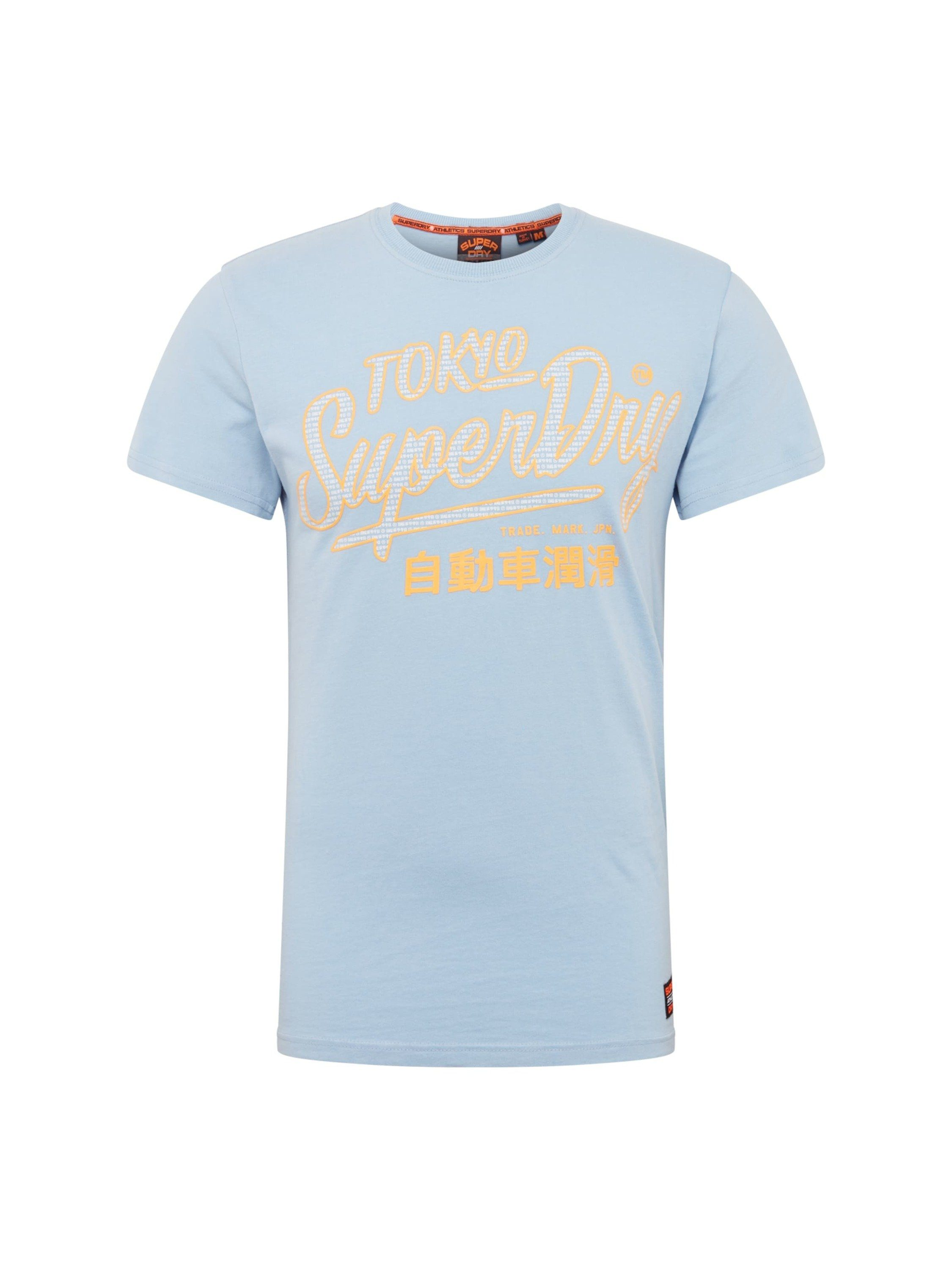 Superdry Rundhalsshirt »Ticket Type Pastel«
