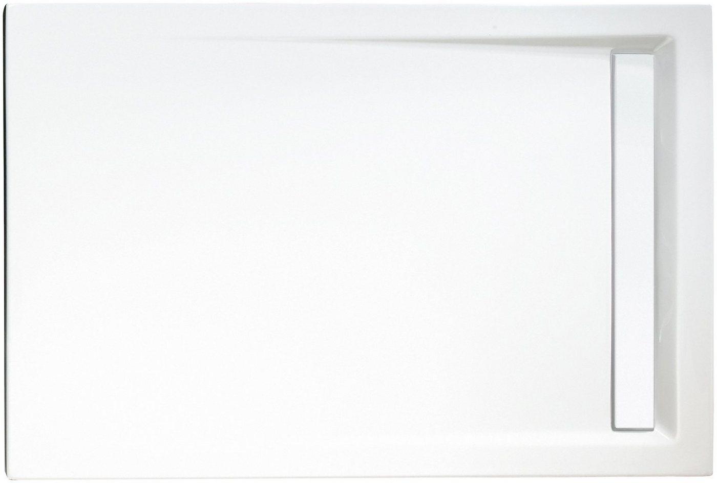 SCHULTE Set: Duschwanne »extra-flach«, rechteckig mit Rinne 90 x 100 cm   Bad > Duschen > Duschwannen   Schulte