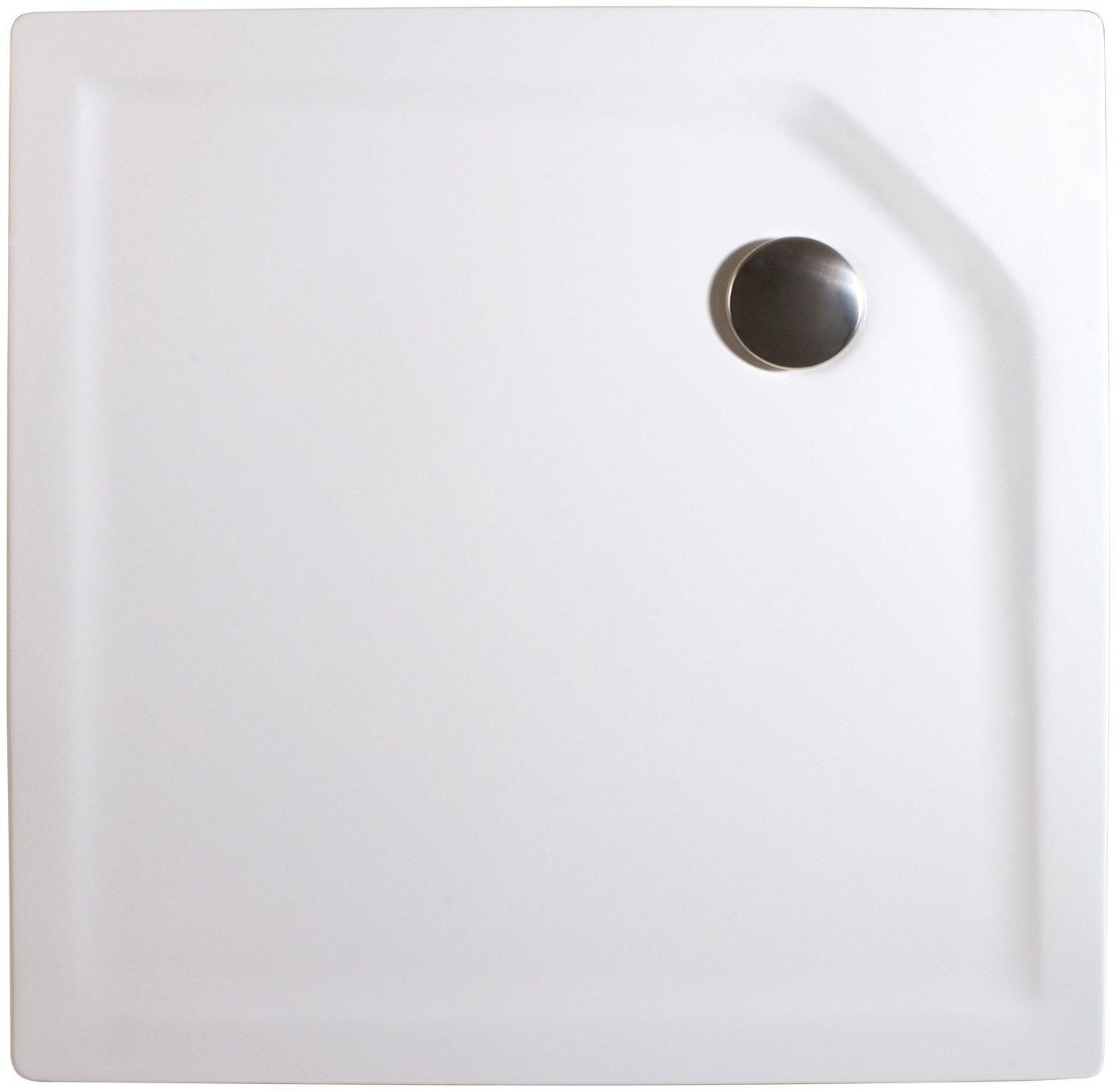 Schulte Set: Duschwanne »extra-flach«, quadratisch, 100 x cm