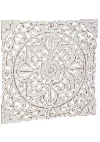 SCHNEIDER Wanddekoobjekt »Holz-Ornamentik«