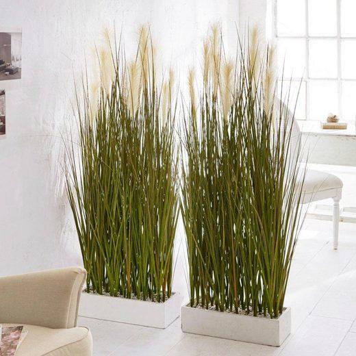 Kunstpflanze »Raumtrenner-Gras««, Schneider, Höhe 153 cm