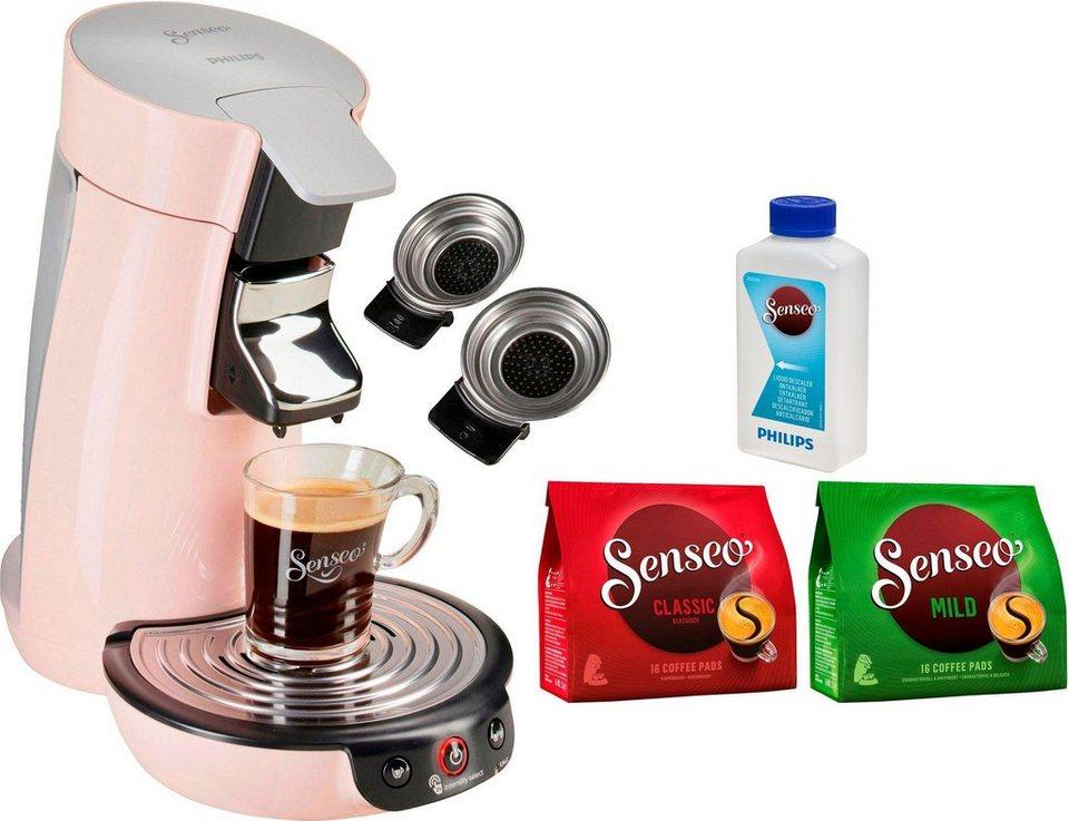 senseo kaffeepadmaschine senseo viva caf hd6563 30 inkl. Black Bedroom Furniture Sets. Home Design Ideas