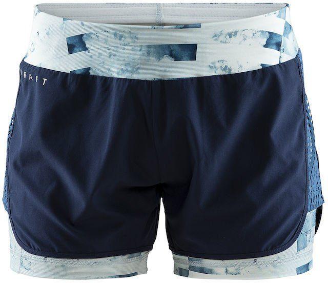 Tempo Lux Printed Running Shorts Kurze Laufhose Damen
