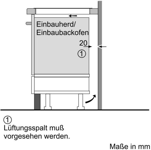 NEFF Flex-Induktions-Kochfeld von SCHOTT CERAN N 70 T56BD50N0, mit TouchControl-Bedienung