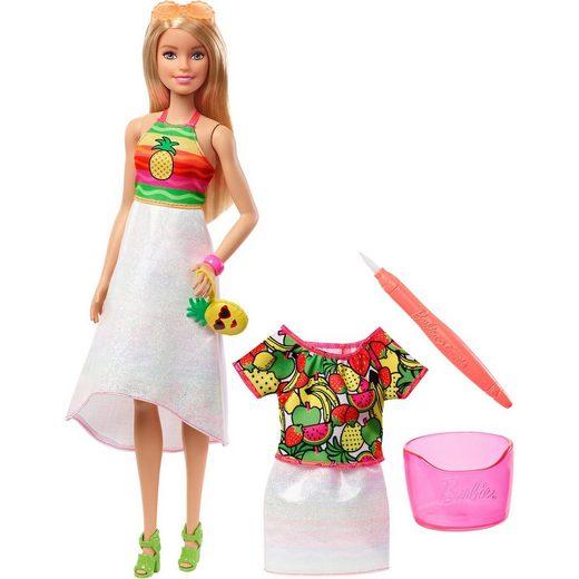 Mattel® Barbie loves Crayola Fruchtiger Farbenmix Puppe & Moden