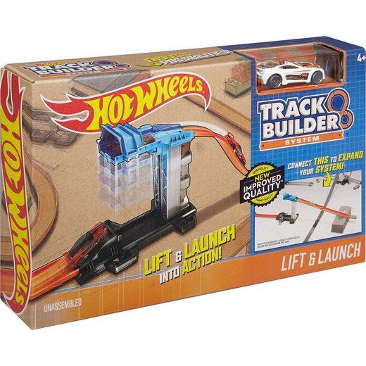 Mattel® Hot Wheels Track Builder Basis-Set Aufzug & Starter