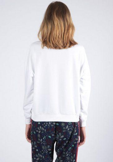 Weiß Kaporal Mit Aufdruck Modischem Pullover 45RLAj