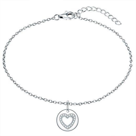 Rafaela Donata Silberarmband »RD118« (1-tlg), mit Herz