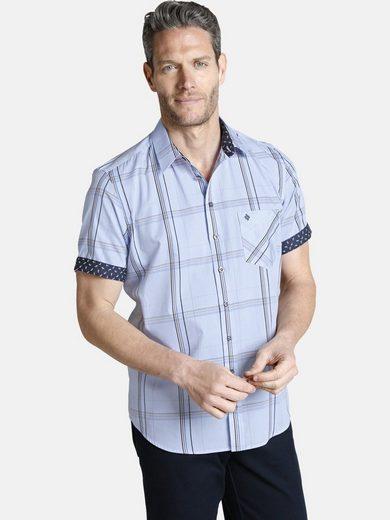 Schlussverkauf Charles Colby Kurzarmhemd »PELLAM« mit aufgesetzter Brusttasche