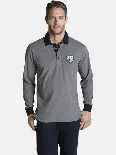 Charles Colby Sweatshirt »CONNOR« im lässigen Polo-Stil