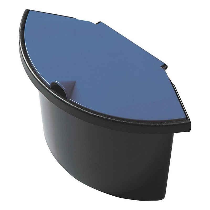 HELIT Papierkorb »the collector«, 6 Liter, Abfalleinsatz mit Deckel, zum Einhängen