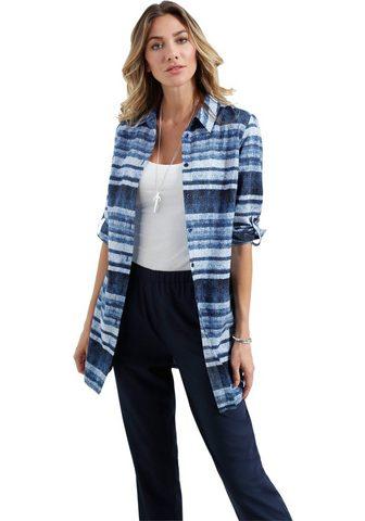 CLASSIC BASICS Ilgi marškiniai in džinsinės medžiagos...