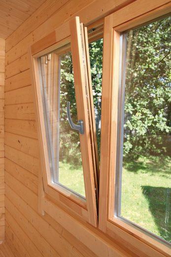 WOLFF FINNHAUS Fenster »Nordkap 70«, BxH: 129x99,6 cm