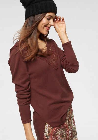 new concept 0efe1 652bb Pullover in braun online kaufen | OTTO